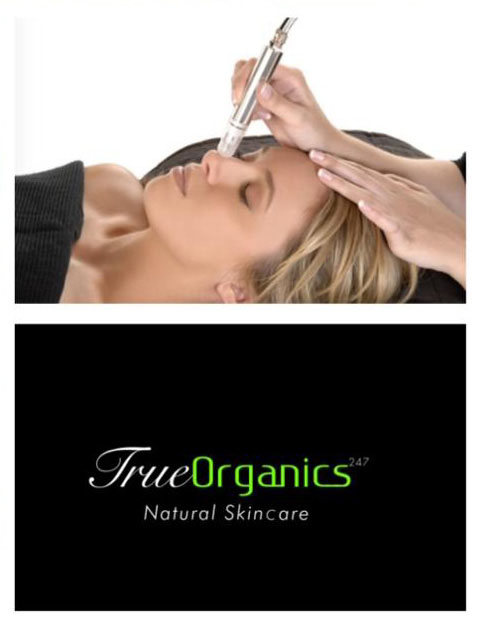 True Organics Signature Microdermabrasion Exfoliation Facial