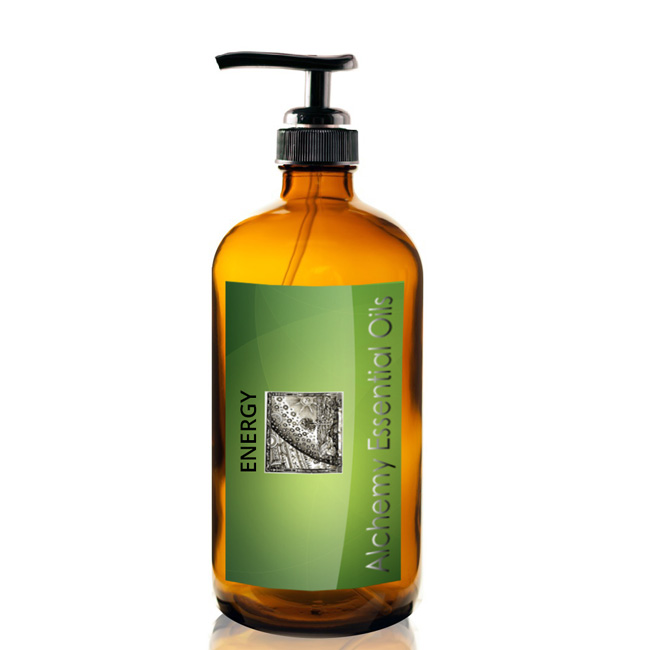 Energy Massage Oil 240ml/8oz